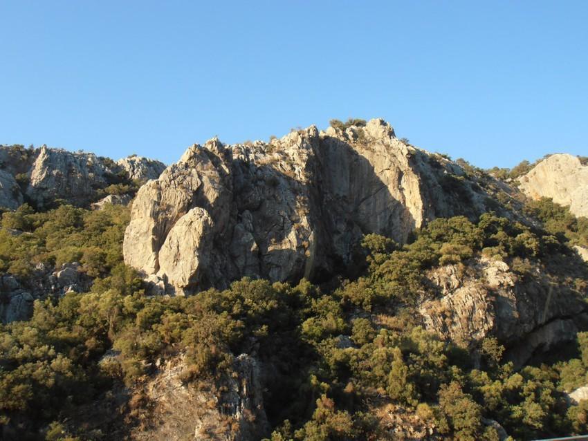 Горы недалеко от Анталии