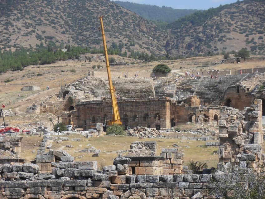 Древний колизей. Иераполис