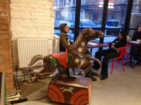 Карусель Лошадь