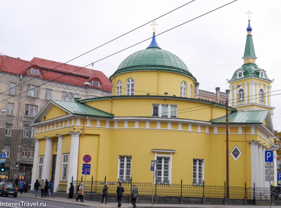 Соборы в центре Риги