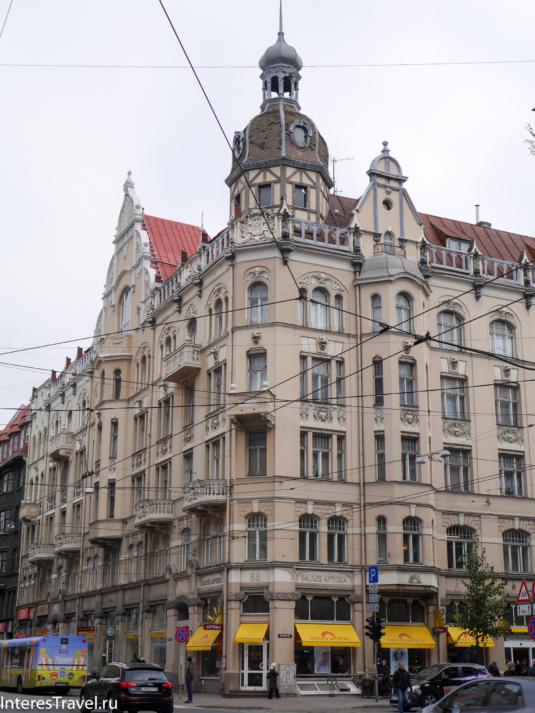 Рига. Центральная часть города
