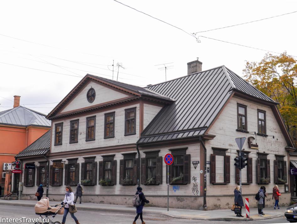 Деревянные здания Риги