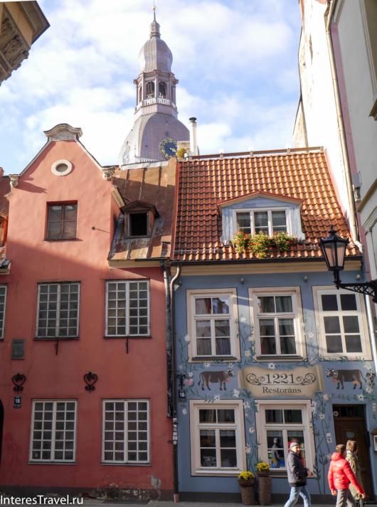 Здания Старого города. Рига