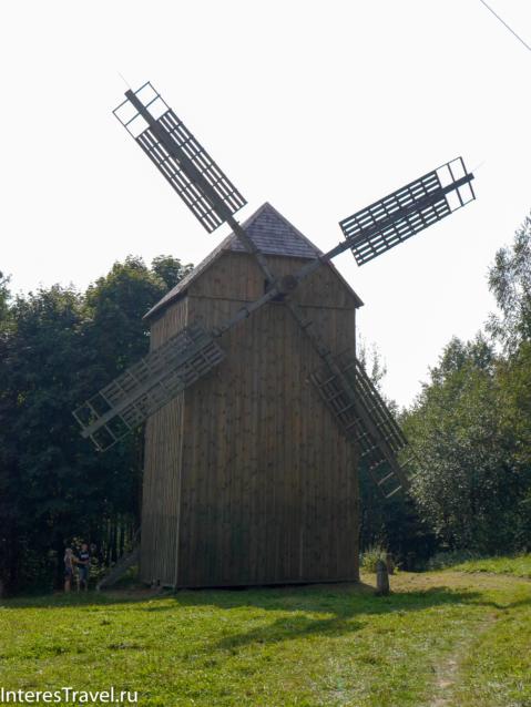 Белорусский музей народной архитектуры и быта. Ветряная мельница