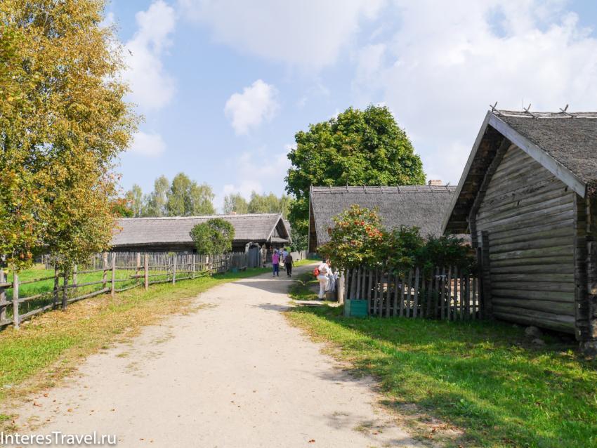 Белорусский музей народной архитектуры и быта. Улица