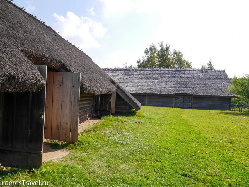Белорусский музей народной архитектуры и быта. Дома и дворы