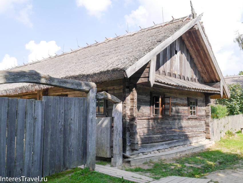 Белорусский музей народной архитектуры и быта. Дома