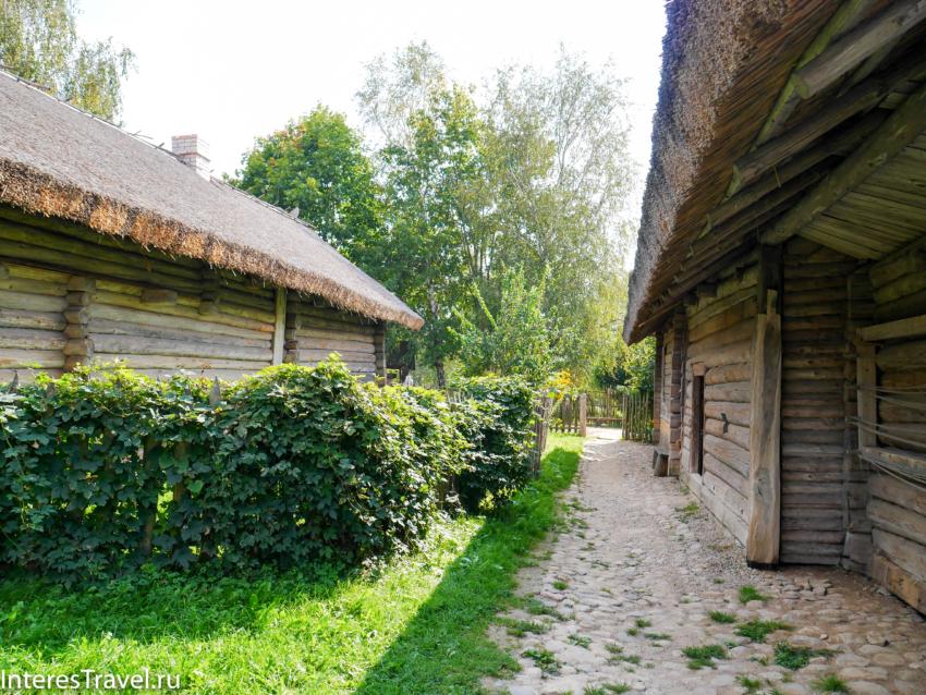 Белорусский музей народной архитектуры и быта. Двор
