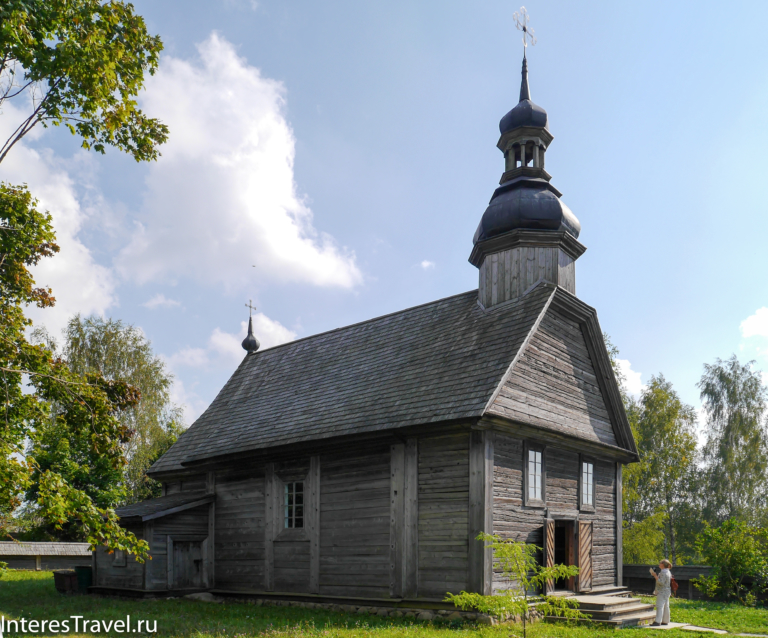 Белорусский музей народной архитектуры и быта. Церковь