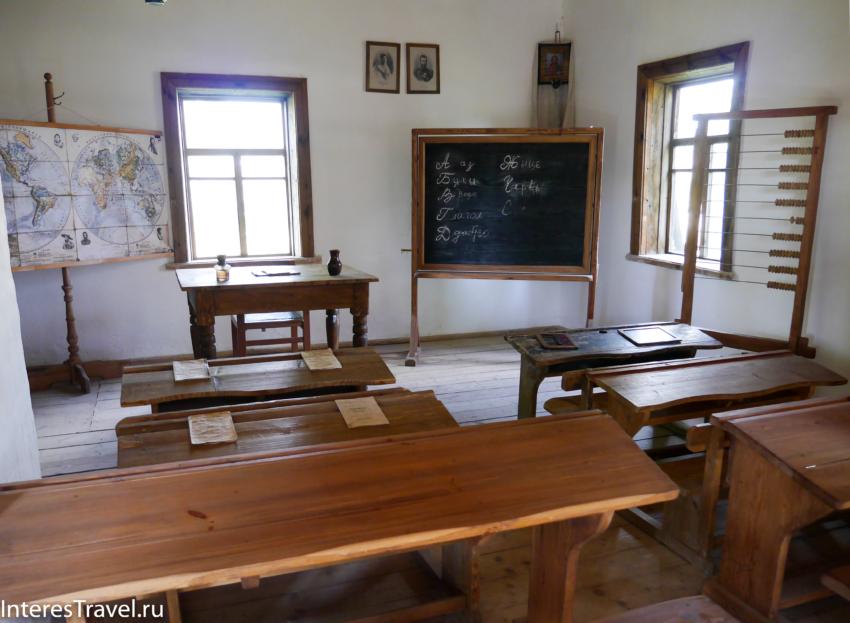 Белорусский музей народной архитектуры и быта. Школа