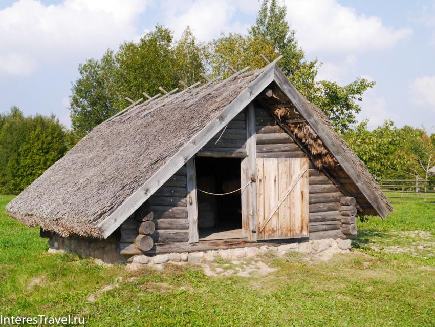 Белорусский музей народной архитектуры и быта. Погреб
