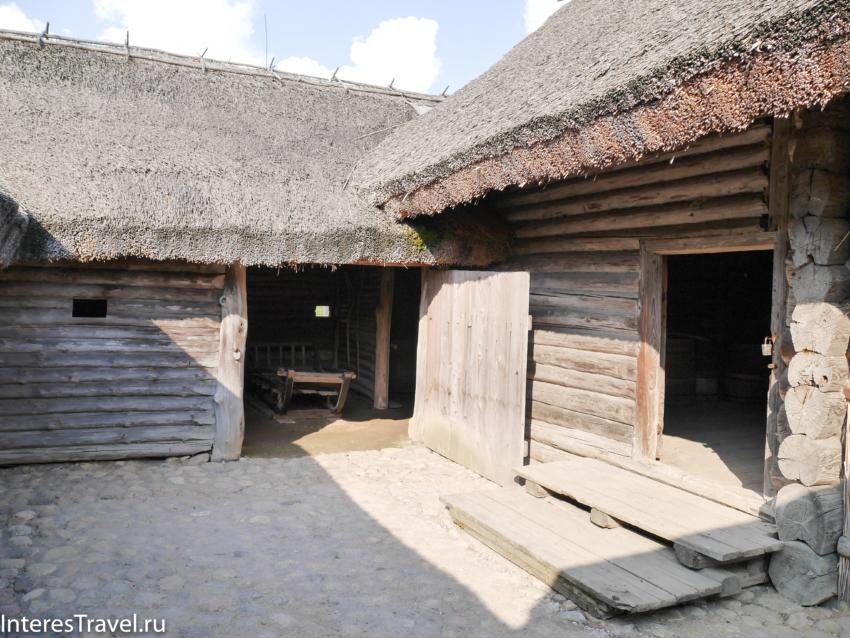 Белорусский музей народной архитектуры и быта. Сараи