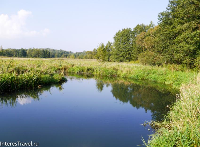 Белорусский музей народной архитектуры и быта. Река