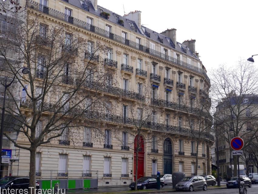 Франция. Париж. Архитектура.