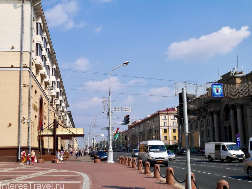 Широкие проспекты Минска