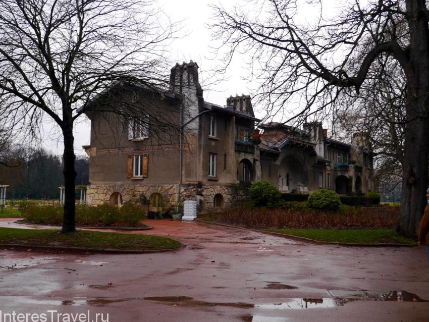 Парк Золотой головы в Лионе