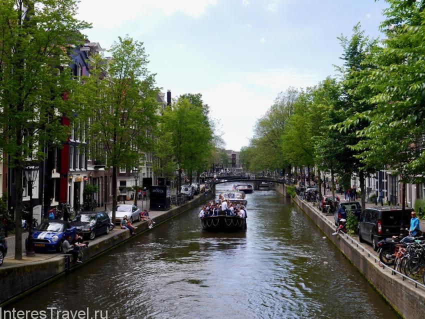 Экскурсии по каналам в Амстердаме