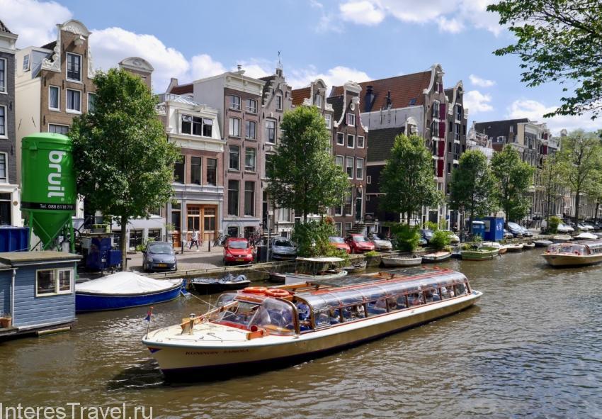 Водная экскурсия по каналам Амстердама