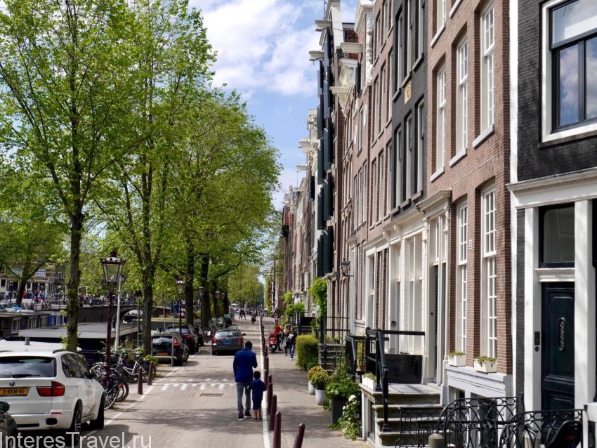 Жилой район Амстердама