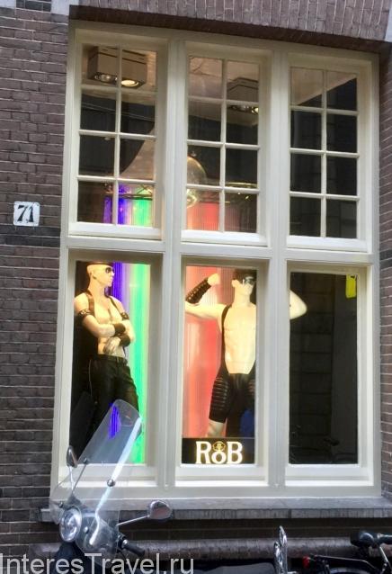 Секс-магазины. Амстердам