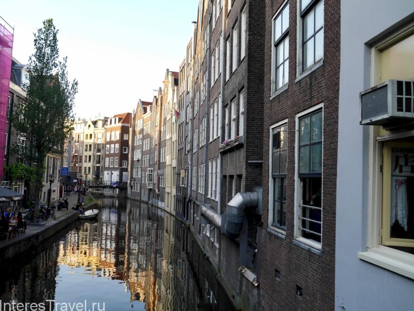 Каналы Амстердама и дома