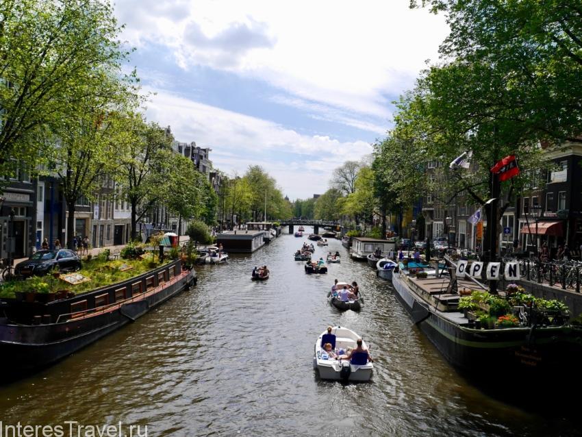Водные экскурсии в Амстердаме