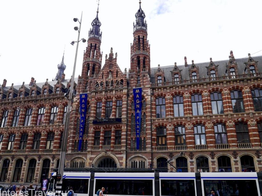 Пример классической голландской архитектуры.
